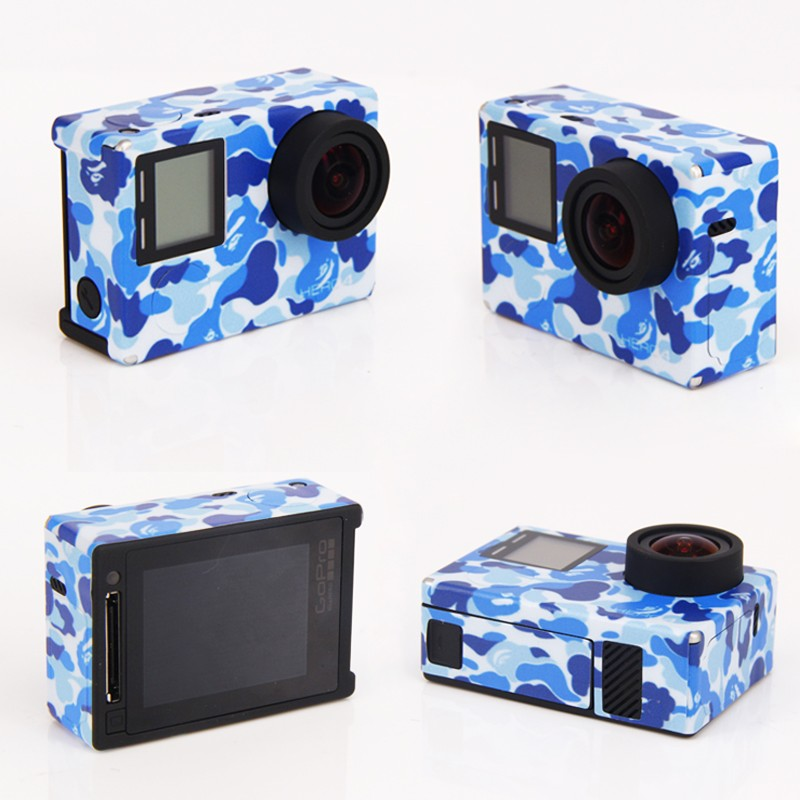image for New Hot Sale For Goro Sport Camera Stickers Go Pro Accessories For Gop