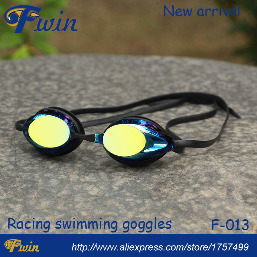 Professional competition swimming goggles  anti-fog UV resist mirrored lens racing swimming goggles<br><br>Aliexpress