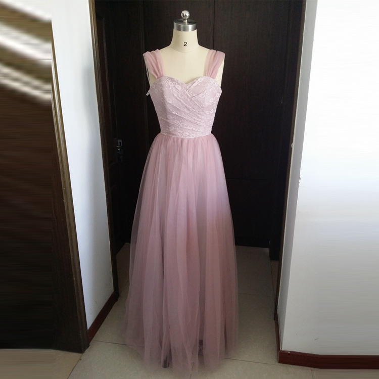 2016 new lavender long semi formal party dress for wedding for Evening wedding guest dress