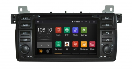 Android system 5.1.1, audio navigation/ car dvd player with phone connection GPS For BMW 3 E46/M3 with DVR:USB Port(China (Mainland))