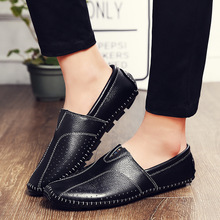 Spring Autumn Men's Genuine Leather Casual Shoes Loafers Shoes Summer Men's Moccasin Driving Shoes Men Flat Tods Shoes(China (Mainland))