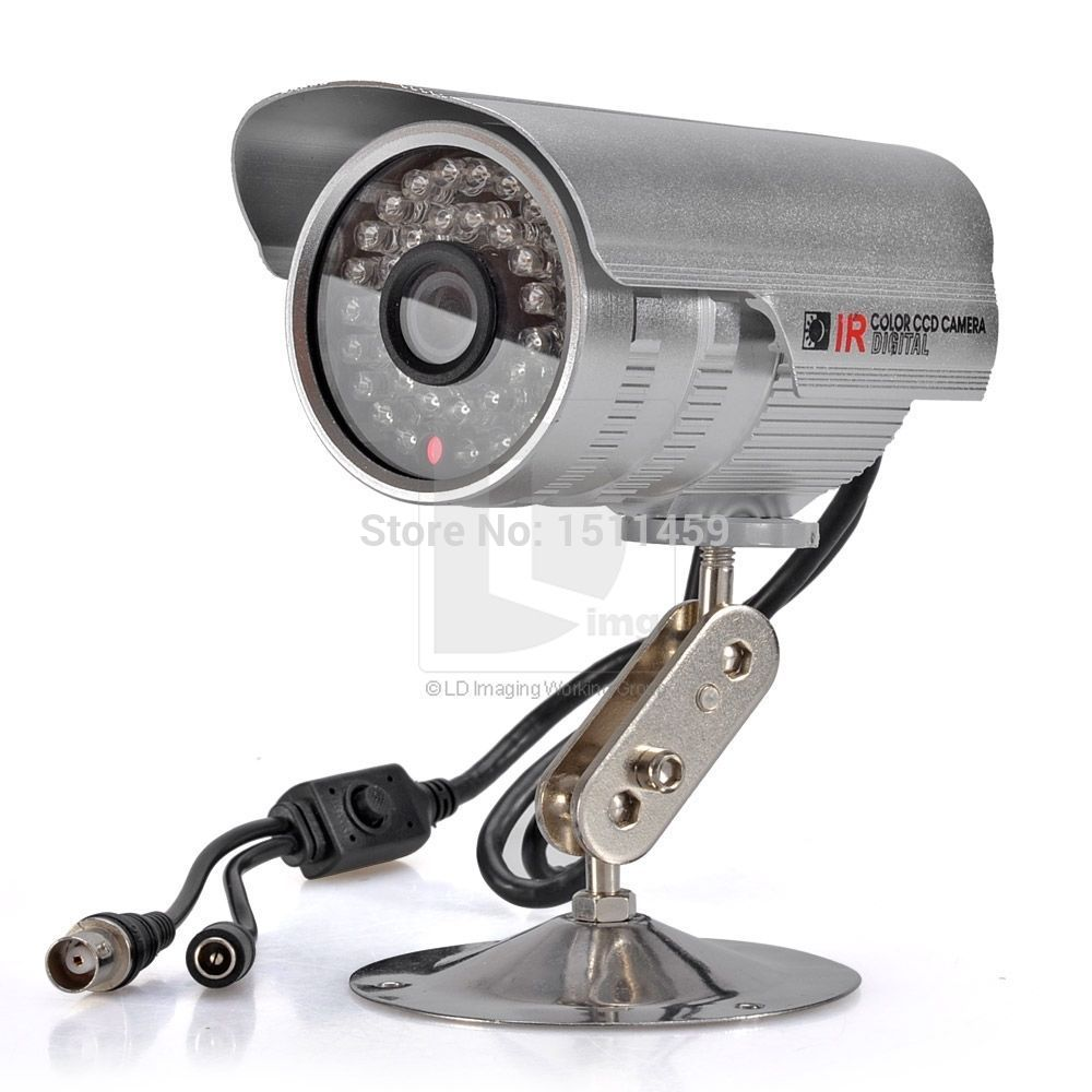 New 1200TVL CCTV Surveillance Home Security Waterproof Outdoor Day &amp; Night 36IR Camera Silver for home protection<br><br>Aliexpress