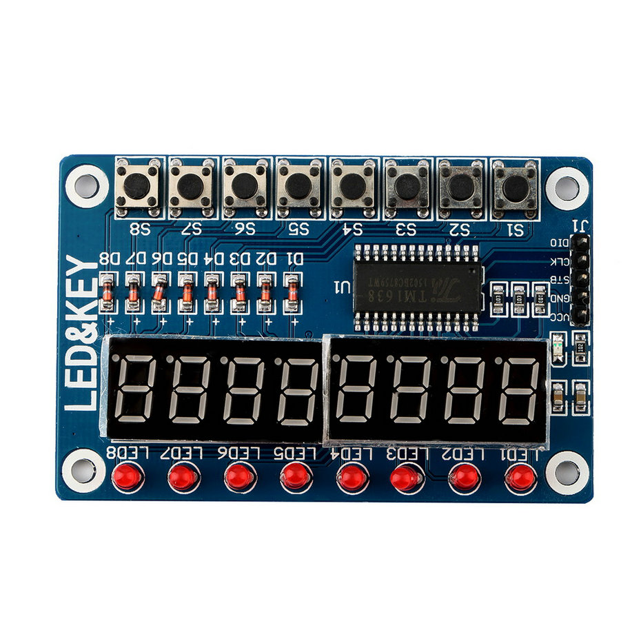 Selling Key Display For AVR Arduino 8-Bit Digital LED Tube 8-Bit TM16