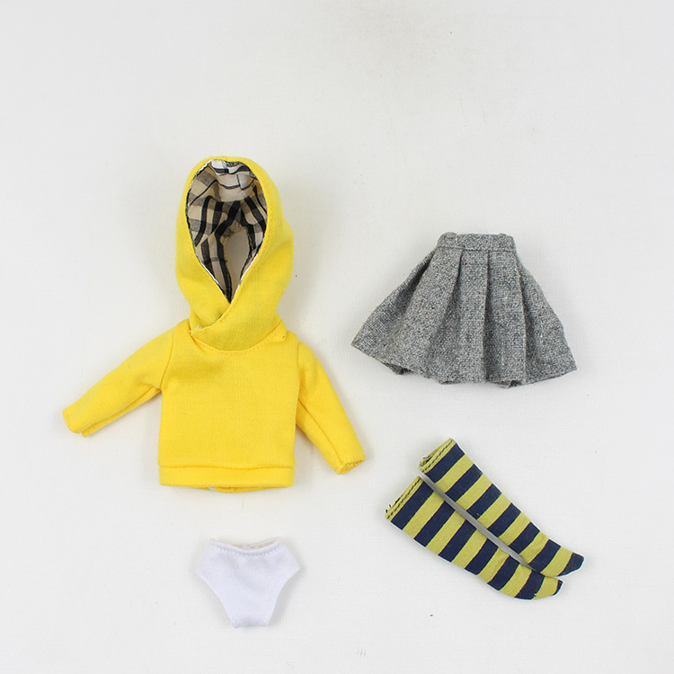 Cloth dolls set of 4 warm cloth doll clothes suitable for AB1/6 baby changing doll<br><br>Aliexpress