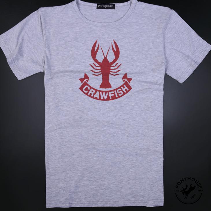 Гаджет  2015I LABEL SILHOUETTE CRAYFISH LOBSTER T-shirt short sleeve male lobster None Изготовление под заказ