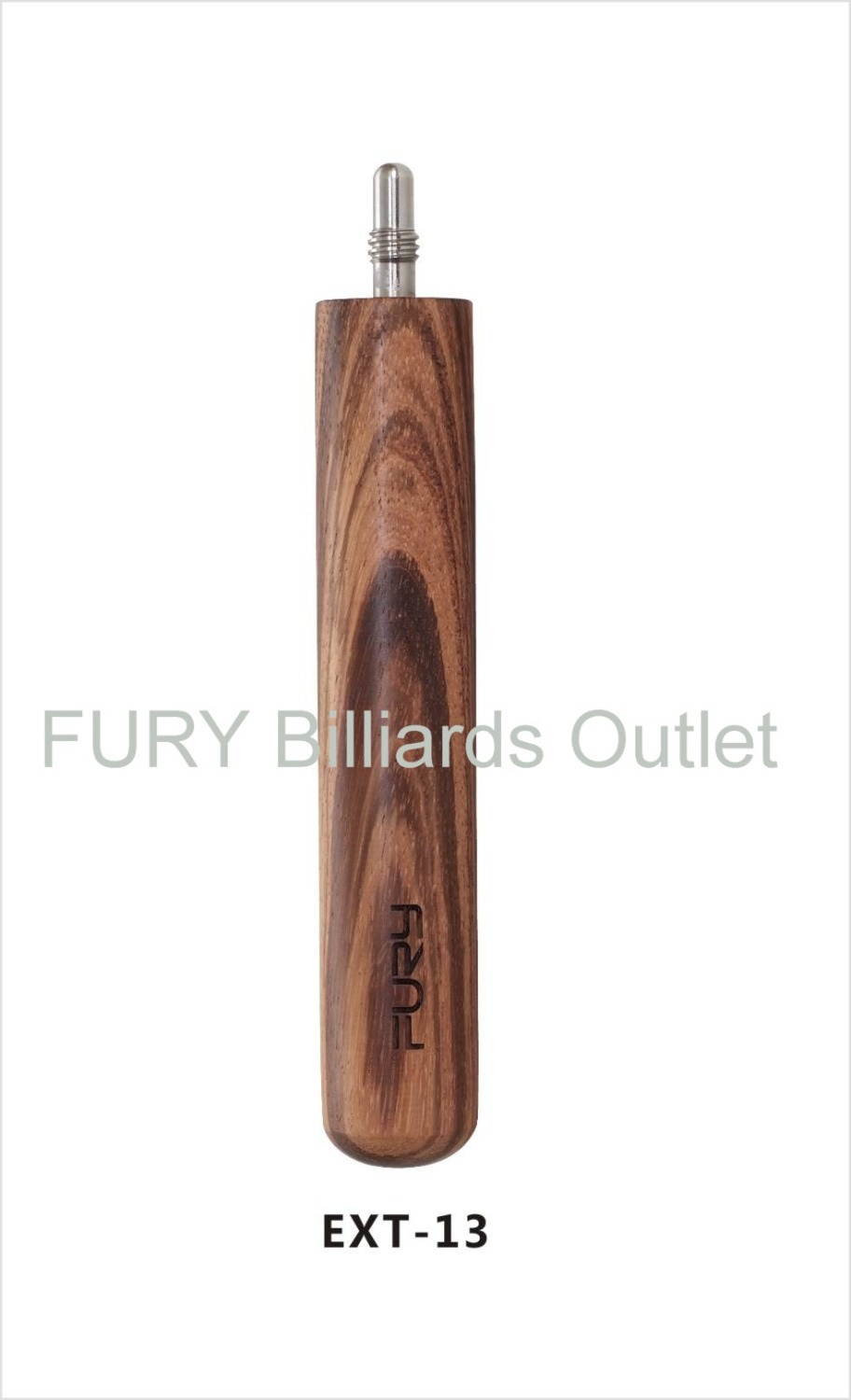 "2015 FURY cue Pool Billiards extension /8"" for Pool stick Zebra wood Stick extender EXT13(China (Mainland))"