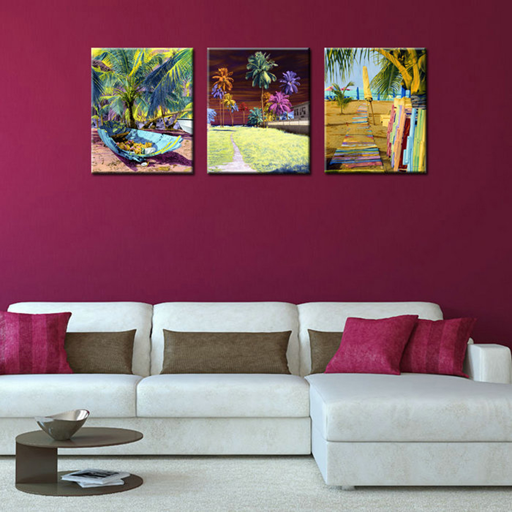 Tropical abstracto compra lotes baratos de tropical - Pintura abstracta decorativa ...