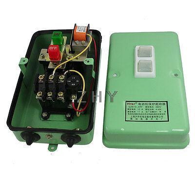 6.8-11A 5.4HP Three Phase Motor Starter Protector 3Pole 120-430V Coil<br><br>Aliexpress