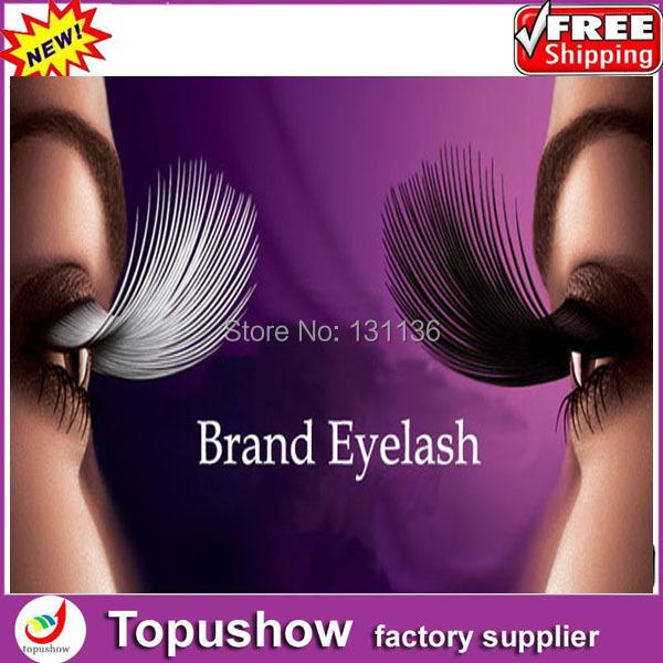 professional eyelash extension kit handmade false eyelashes the natural end of eye lengthened thick cotton stems false eyelashes(China (Mainland))