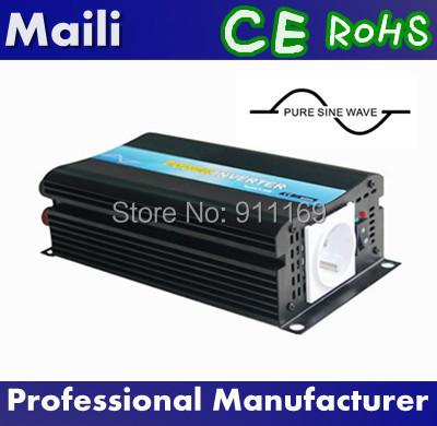 Power Inverter Car Inverter Pure Sine Wave 500W Inverter 12v 220v ,Free Shipping !& professional quality(China (Mainland))
