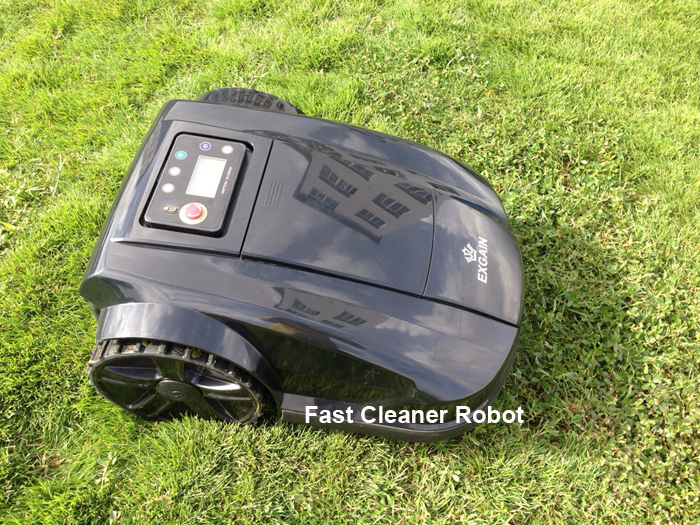 Newest 4th Generation lawn robot mower(Remote control ,Auto Recharge,Schedule, LCD,Range Function,Suarea Function,Water-proofed)(China (Mainland))