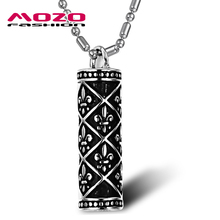 Wholesale 2016 New Hot Sale Fashion Jewelry National Style Chain Men's 316l Stainless Steel Necklace For Men/boys GX790(China (Mainland))