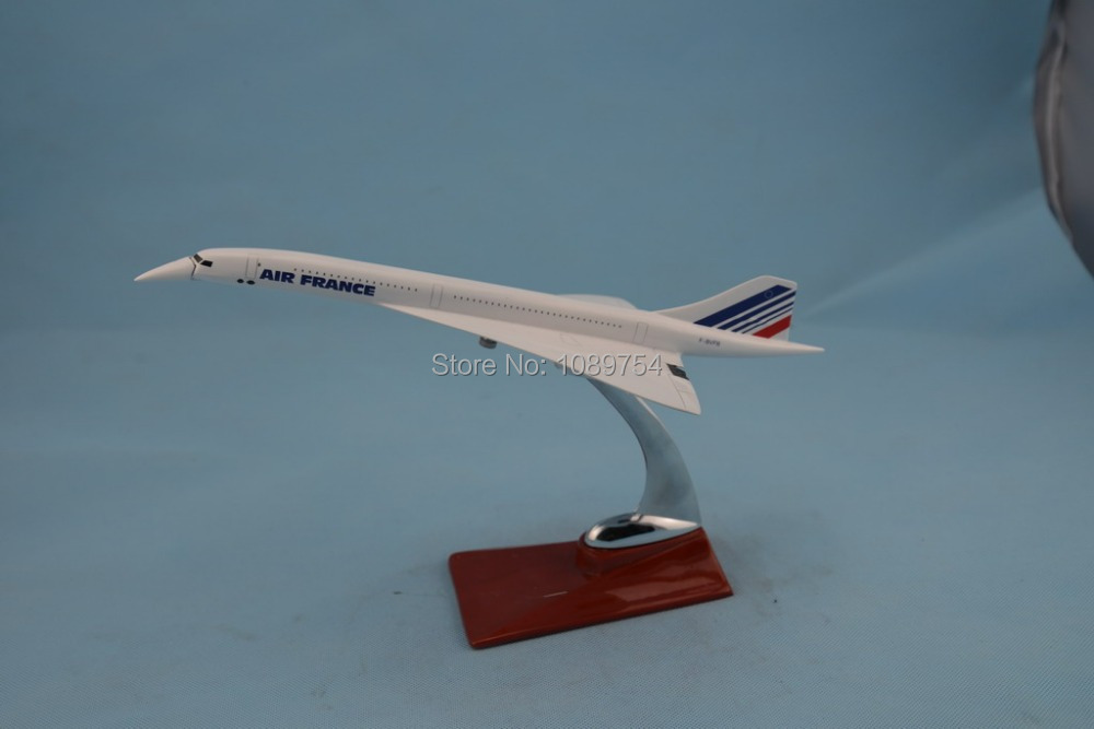 31CM Air france concorde ,31CM  Resin airplane models free shipping<br><br>Aliexpress