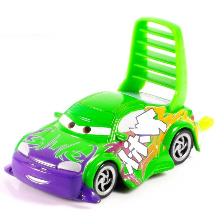 Pixar Cars 2 100% original Wingo cute with flames 1:55 scale die-cast metal alloy model brio toys for kids gifts free shipping(China (Mainland))