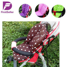 New Thick Colorful Baby Infant Stroller Car Seat Pushchair Cushion Cotton Cover Mat Lovely Cute Design Baby Seat Cushions(China (Mainland))