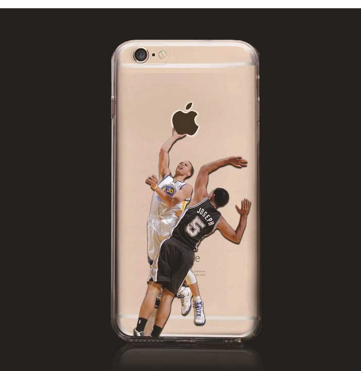 Fashion Cool NBA Basketball Stars Series Phone Case For iPhone 6/6S For iPhone 6 Plus/6S Plus Protective Cover Hu341