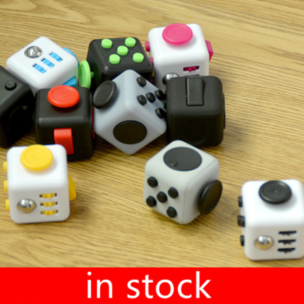 Cool!!New Fidget Cube High Quality Magic Cube Material Toys for Girl Boys Gift Migic Cube The First Batch of The Sale(China (Mainland))