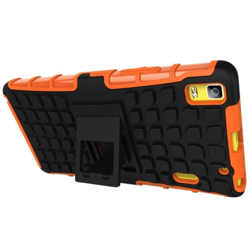 For LENOVO K3 NOTE A700 Tire pattern case, two in one TPU+PC Tire pattern Stand Cell Phones Case Cover For LENOVO K3 case(China (Mainland))
