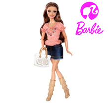 Original Genuine Brand Barbie Doll Barbie Life in the Dreamhouse Summer Doll Joint Body  New Year Gift Free Shipping(China (Mainland))