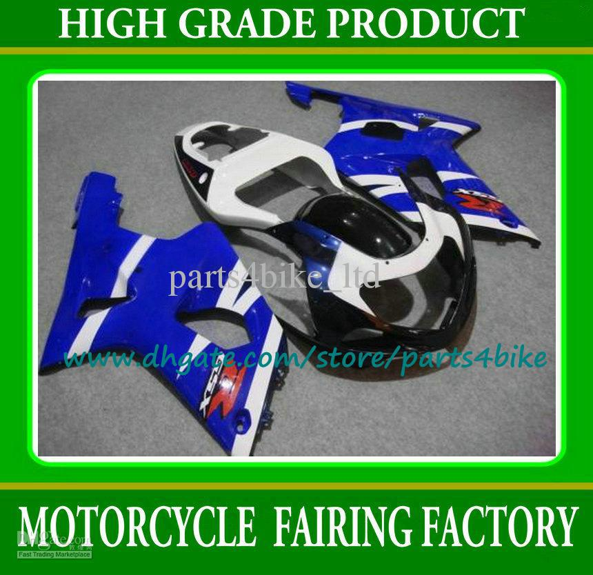 Customize blue/black fairing kit for SUZUKI GSXR 600 750 K1 2001 2002 2003 GSXR600 GSXR750 01 02 03 motorcycle fairings kit(China (Mainland))