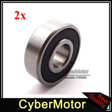 Buy 2x 12x32x10mm Motorcycle Rubber Sealed Ball Bearing 6200 RS ATV Quad 4 Wheeler Pit Dirt Trail Motor Bike Motocross for $4.99 in AliExpress store