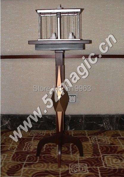 Floating Table With Appearing Bird Cage Table - Deluxe  - Magic Trick,Stage Magic,Close Up magic ,Floating Magic,Accessories<br>