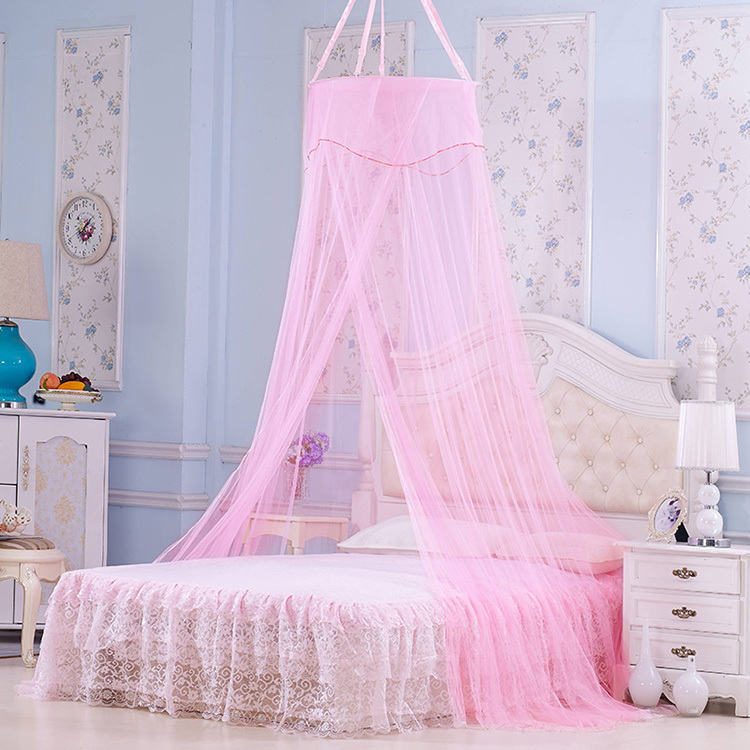 Elegant Netting Bed Canopy Mosquito Nets for Bedding Set 4 Color Adult Children Bed Tent Mosquiteiros De Teto Magic Mesh(China (Mainland))
