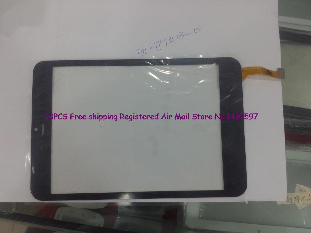 10pcs/Lot Free shipping The original road 7.85 inch MID tablet 7.9 inch capacitive touch screen external screen FPC-TP785030-00<br><br>Aliexpress