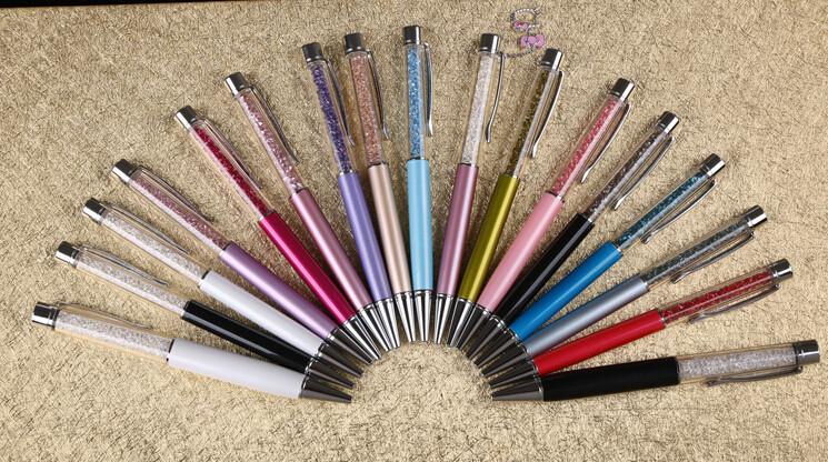 Гаджет  Swarovski crystal pen Ballpoint pen Crystalline lady lovely crystals stellar Pen None Офисные и Школьные принадлежности