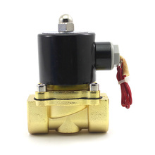 """2015 New 3/4"""" AC 220V Electric Solenoid Valve Pneumatic Valve for Water Oil Air Gas x1(China (Mainland))"""