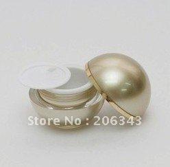 30G gold ball shape acrylic cream jar, cosmetic jar<br><br>Aliexpress