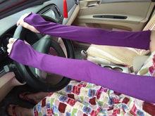 Fashion Women Girl warm Arm Warmer Cotton Long Fingerless Gloves Summer Car Driving UV Shade Sun Cuff Party Gift Arm Warmers(China (Mainland))