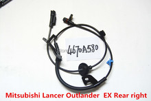 Buy Fits 07-12 Mitsubishi Lancer Outlander EX Rear right Side ABS WHEEL SPEED SENSOR 4670A580, 5S11133, MN116244, SU12586 for $13.59 in AliExpress store