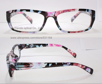 Full frame with folwer ,Fashion Injection reading glasses with flex hinge , only for wholesale MOQ 100 dozen