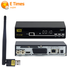2016 new High quality V8 Super Satellite Receiver DVB-S2 Free to Air Full HD Support Full PowerVu,DRE,Biss key digital TV Box