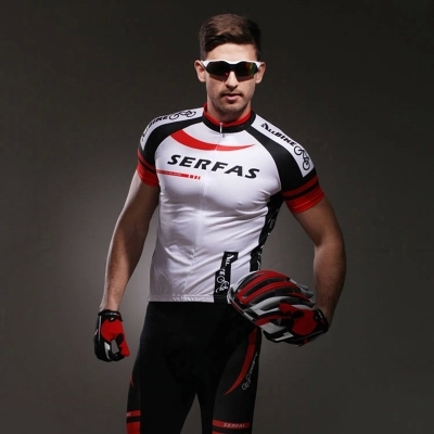 Free Shipping New 2014 SERFAS Bicycle Cycling Sets ride service short-sleeve set male ride Women summer Bicycle Maillot Clothing<br><br>Aliexpress