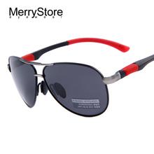 2015 neue Männer Marke Sonnenbrille HD Polarisierte Brille Männer Marke Sport Polarisierte Sonnenbrille Hohe qualität Mit Original Fall(China (Mainland))