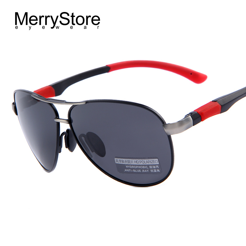 2015 New Men Brand Aviator Sunglasses HD Polarized Glasses ...