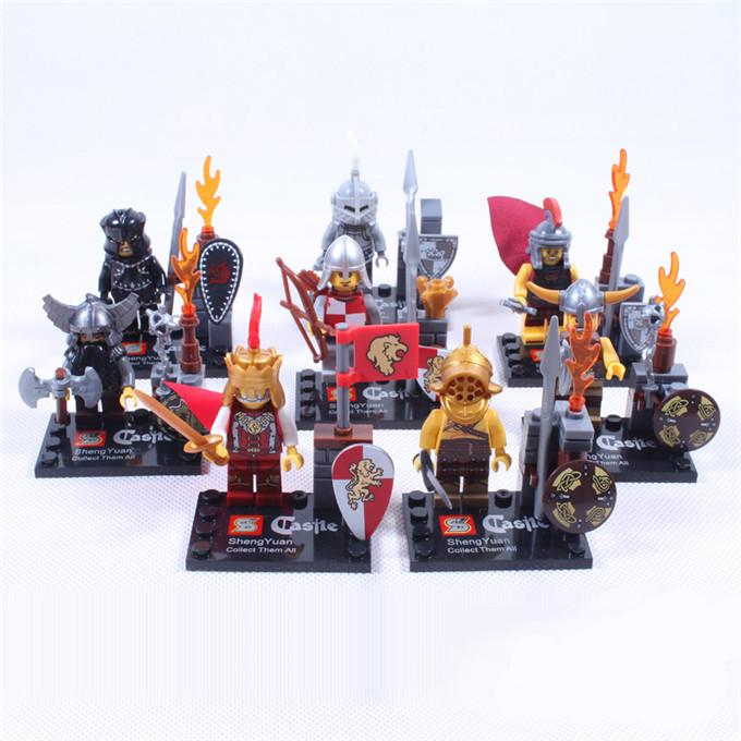 Детская игрушка SHEN YUAN Legominifigures 175  детское лего shen yuan 2015 sy269 8