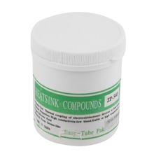 New Arrived 1 Pc 100g White Heat Sink Compound CPU Graphic Cooling Grease Silicone Paste NewBrand New(China (Mainland))