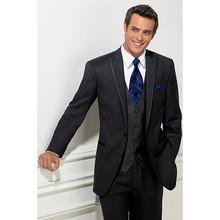 2017 New Grooms suits wedding tuxedos mens 3 pieces (jacket+Pants+vest) - Shop2906168 Store store