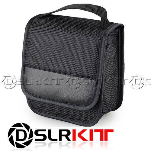 Filter Wallet Case Bag box fo CPL,UV,ND,Star Filters,Cokin P series 140mm 4 slot