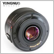 YONGNUO YN50mm F1.8 Lens For Canon  EOS 60D 70D 5D2 5D3 7D2 750D 650D 6D DSLR Cameras()