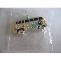 Thomas style pendent bus charms with lobster claw