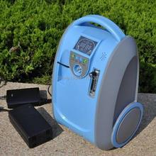 5 л mini медицина портативная кислород концентратор генератор сочетается с два батареями для хобл / века, Беременных