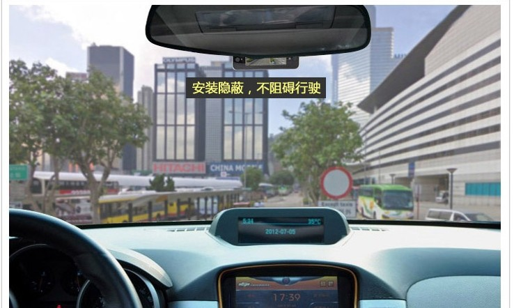 Camera DVR Car Video Recorder 2.7 inch Automobile Vehicle Traveling Data Recorder(China (Mainland))