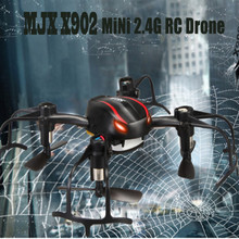 MJX X902 Headless Mini Drone 2.4G 4CH 6-Axis Gyro UFO RC Quadcopter Helicopter 3D Flip Drone with LED Lights for Night vs FQ777