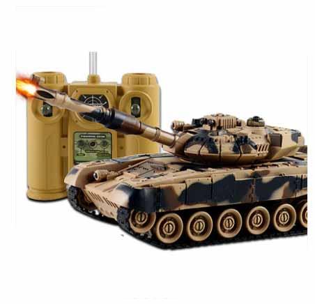 Kingtoy Rc Боевой Танк Весело Дистанционного Управления Войны Съемки Танк большой масштаб Радиоуправления Армия битва Модель