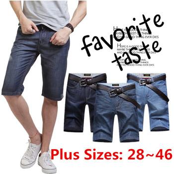 2015 новый бренд мода Большой размер 28-46 тонкие джинсы джинсовые шорты мужчины короткие джинсы бермуды Homme мужской шорты джинсы мужчина капри 883
