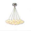 Ecolight Free Shipping Modern Led Pendant Light Led Pendant Lamp Egg Glass 90 265V Clear Glass